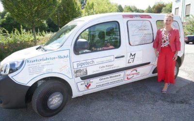Sponsoren finanzieren Krankenhaus-Auto